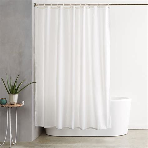 white shower curtains peva shower curtain mono spots grey black by beamfeature