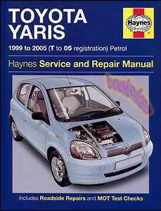 Toyota Echo Shop Manual Service Repair Book Haynes 2000