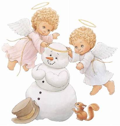 Angels Snowman Angel Clipart Morehead Anges Tubes
