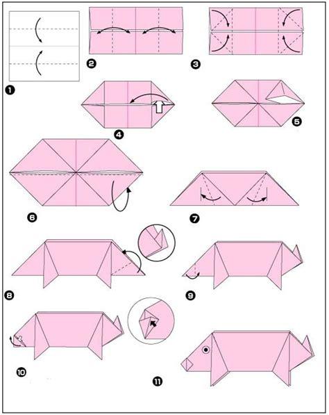 hoe vouw ik een varken google zoeken origami dieren