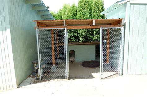 outdoor kennel discover and save creative ideas