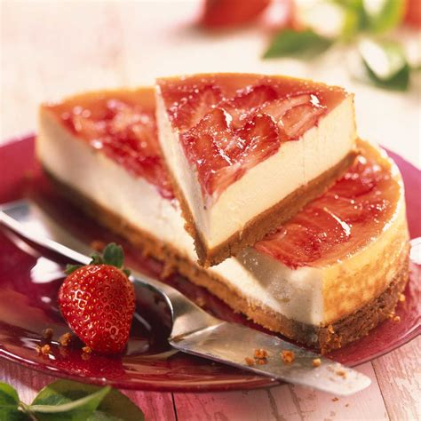 la cuisine de aux fraises cheese cake aux sp 233 culoos et aux fraises recette sur cuisine actuelle