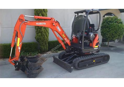 kubota     tonne excavator  listed  machinesu
