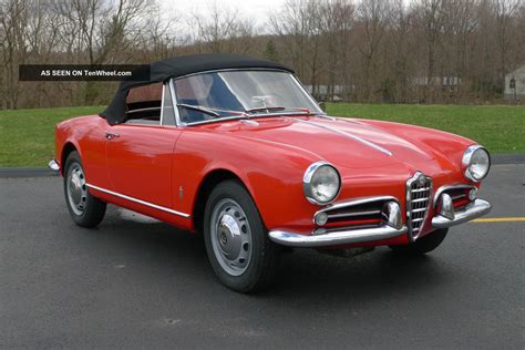 Alfa Romeo 1960 by 1960 Alfa Romeo Giulietta Spider