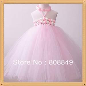 retail light pink First Birthday Weddings tutu dress hot ...