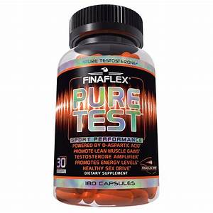 Finaflex Pure Test - Buy Natural Testosterone Booster