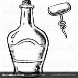 Whiskey Bottle Drawing Getdrawings sketch template