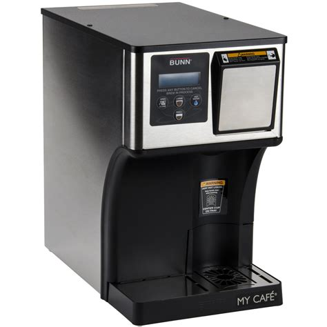 There are three different kinds of single cup brewers that i want to look at in this post. Bunn 42300.0000 AP My Cafe AutoPOD Automatic Commercial Pod Brewer with Auto Eject Pod Disposal