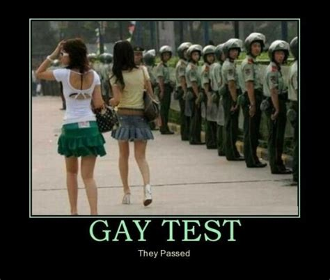 Gay Test Meme - epic fail when you see it humour spot
