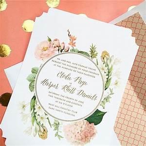956 best wedding invitations images on pinterest wedding With wedding invitation sample front