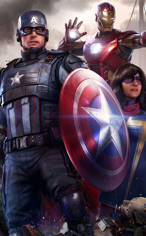 950x1534 Marvel's Avengers Video Game 950x1534 Resolution ...