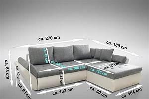 Tiefe Couch : schlafsofa sofa couch ecksofa eckcouch mit schlaffunktion ~ Pilothousefishingboats.com Haus und Dekorationen