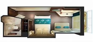 categories et cabines du bateau norwegian getaway With carrelage adhesif salle de bain avec ecran led pour ordinateur