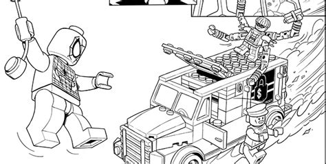 coloriage lego marvel colouring pages