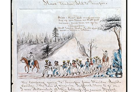 retracing slaverys trail  tears history smithsonian