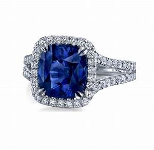 Antique diamond and blue sapphire engagement rings for Wedding band under engagement ring