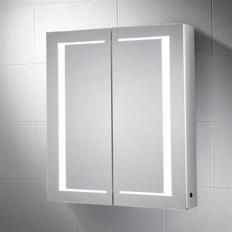 Sided Mirror Bathroom Cabinet by Bathroom Cabinet With Light And Shaver Socket Cabinet Ideas