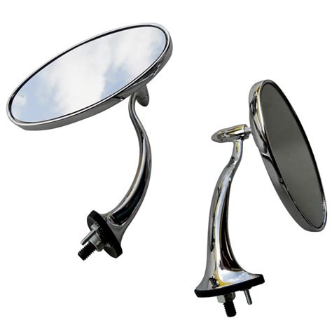 Swan Neck Mirror With Oval Head