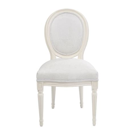 chaises blanche best chaise louis blanche ideas joshkrajcik us