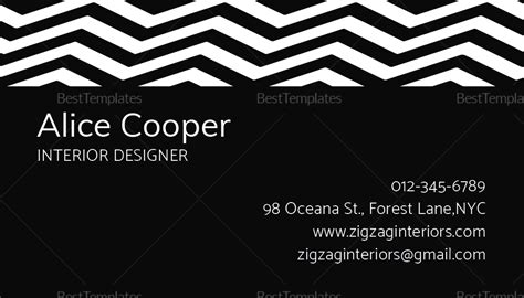 black  white business card template  psd word