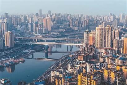 China Urban Cityscape Chongqing Metropolis