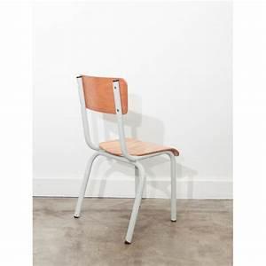 Chaise D école : petite chaise d 39 cole mullca vintage ~ Teatrodelosmanantiales.com Idées de Décoration