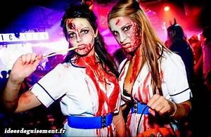 Déguisement Zombie Fait Maison : id es originales d guisements th me de soir e zombie mort vivant ~ Melissatoandfro.com Idées de Décoration