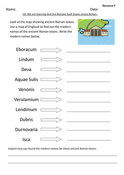 roman towns and roads in britain by coreknowledgeuk
