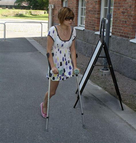 88 Best Leg Crutch Images On Pinterest Crutch