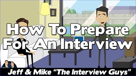 Job Interview Tips  How To Prepare For A Job Interview Youtube
