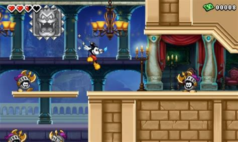 Epic Mickey Power Of Illusion For 3ds Review And Rating
