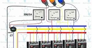 3 Phase Distribution Board Wiring Diagram