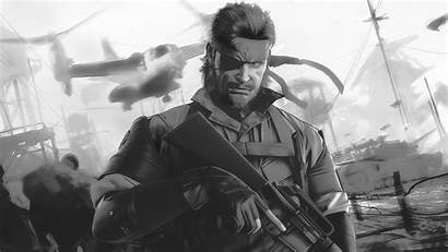 Boss Gear Metal Solid Peace Walker Artwork