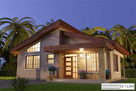 2 Bedroom House Park by Unique Small House Plan Id12209 Floor Plans By Maramani
