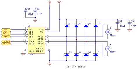 Fritzing Project  Working With L298n Dc Motor Driver