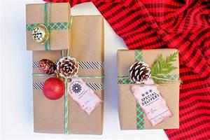Faire Ses étiquettes : diy no l tiquettes cadeaux no l pour une derni re touche personnelle ~ Melissatoandfro.com Idées de Décoration