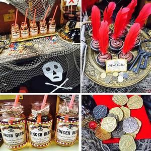 Deco Anniversaire Pirate : decoration de table pirate ~ Melissatoandfro.com Idées de Décoration