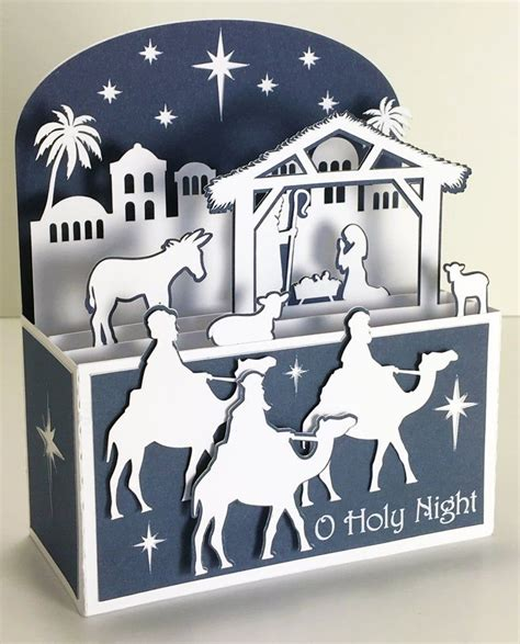 Home 3d svg cut files christmas shadow box card. Pin on the best of Christmas