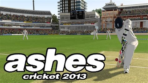 how to ashes cricket 2013 for pc youtube