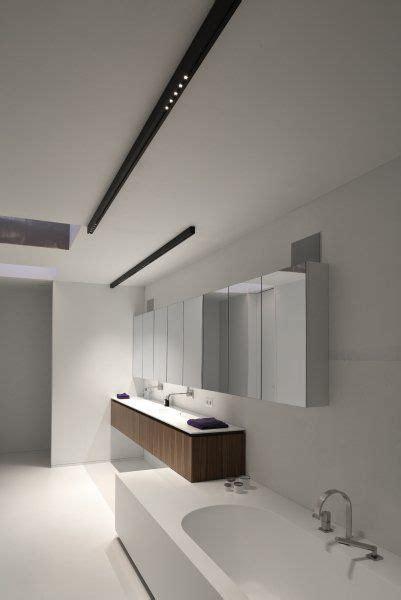 kreon eclairage white bathroom with black kreon nuit surface mounted led