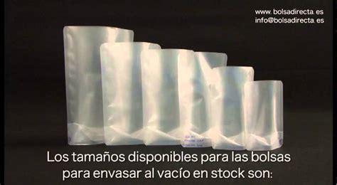 bolsas  envasar al vacio en stock youtube