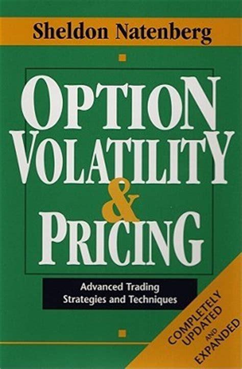option volatility pricing advanced trading strategies