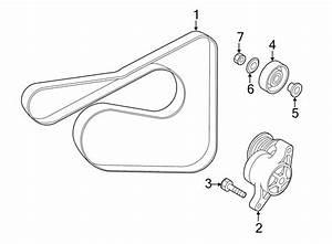 Mazda 2 Serpentine Belt  Pulleys  Belts  Cooling
