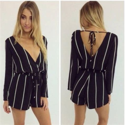 jumpsuits and rompers the 25 best black and white playsuits ideas on