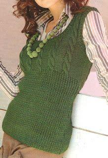 patrones de tejido gratis chaleco con ochos just knitting chalecos tejidos con agujas