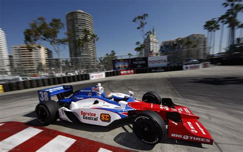 Beach, Racing, Indycar, Honda, Wallpaper, Widescreen, Car