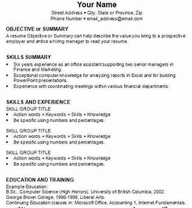 how to how to write job resume With how to write a resume for it job