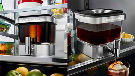 Contents hide 1 what are the advantages of using a grind and brew coffee maker? KitchenAid Cold Brew Coffee Maker Is Perfect For Cold Brew At Home | The Daily Want