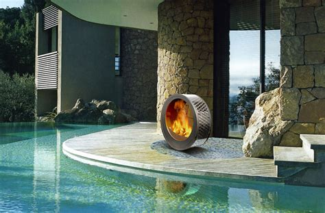 wood burning pit 35 metal pit designs and outdoor setting ideas