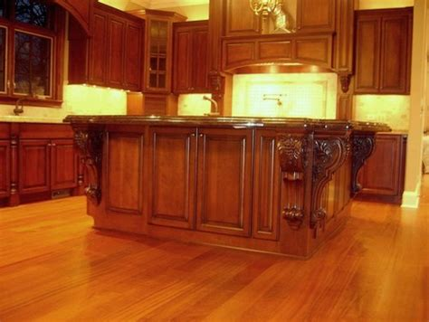 kitchen island with corbels large island corbels traditional kitchen chicago